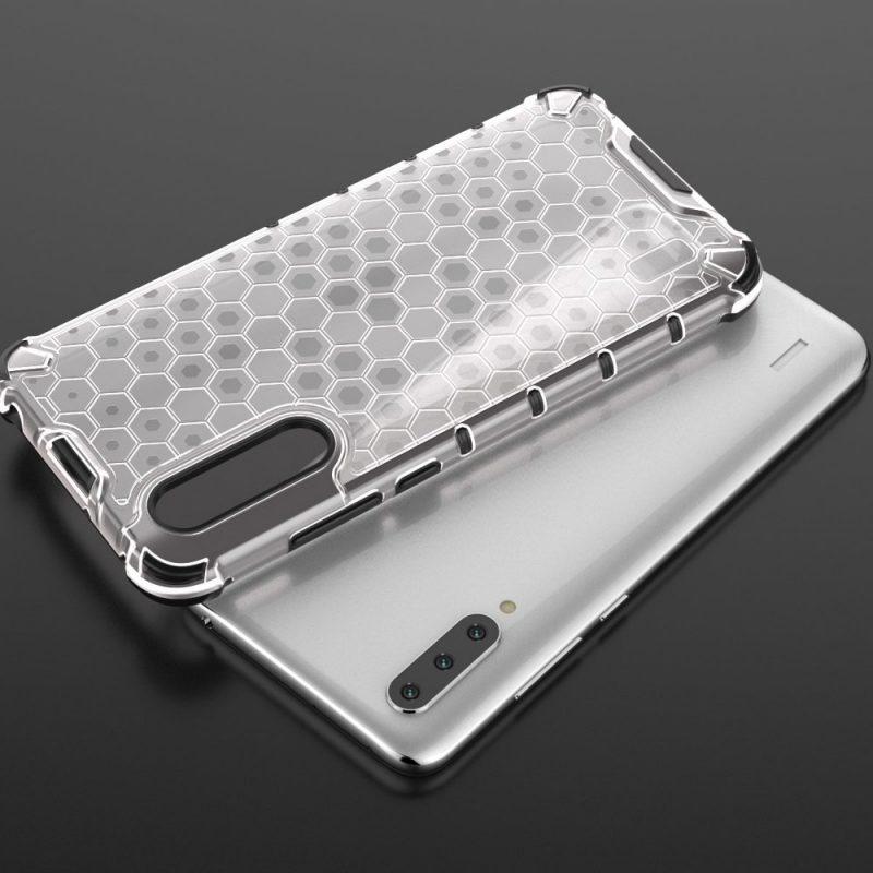 Honeycomb kryt na Xiaomi Mi A3 Priehľadný