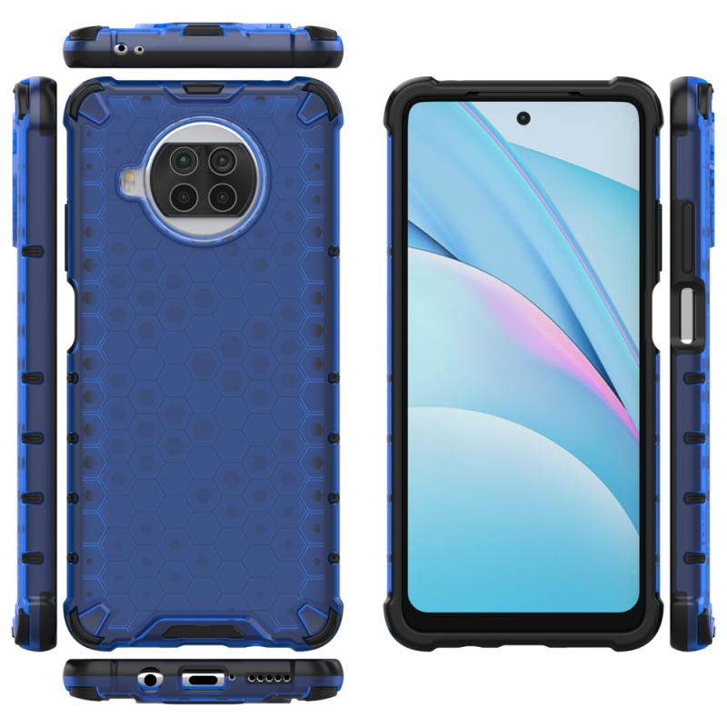 Honeycomb kryt na Xiaomi Mi 10T Lite Blue