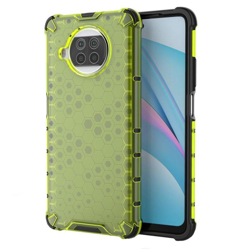 Honeycomb kryt na Xiaomi Mi 10T Lite Green