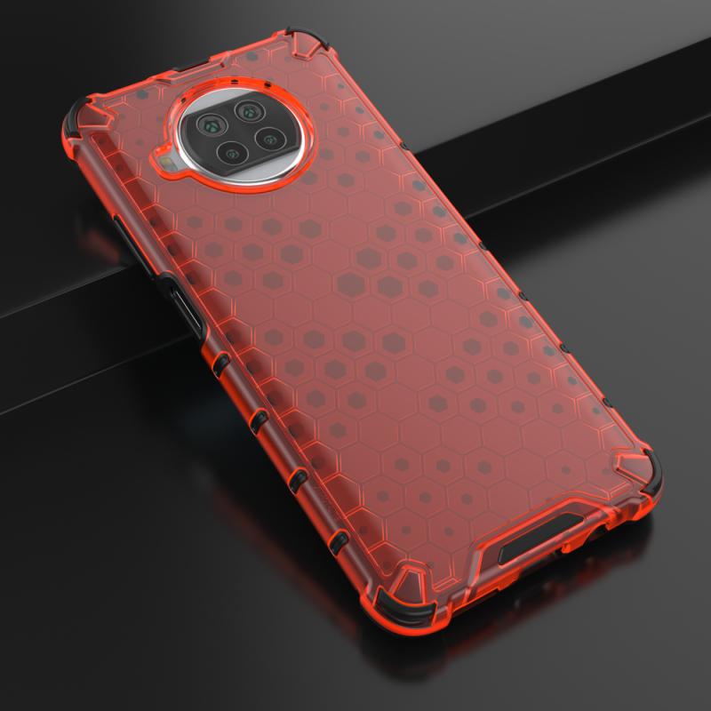 Honeycomb kryt na Xiaomi Mi 10T Lite Red