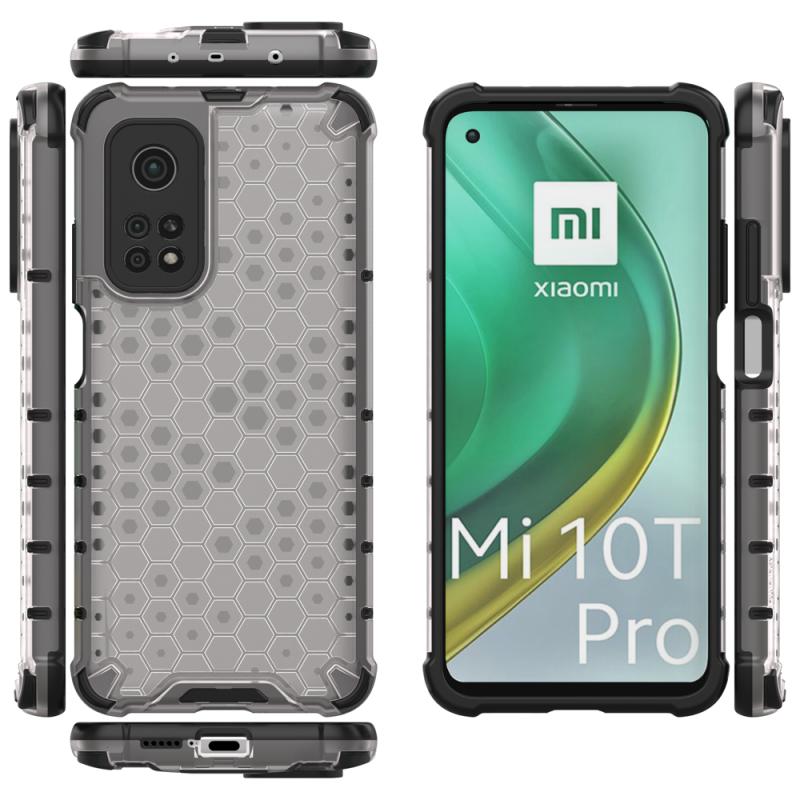 Honeycomb kryt na Xiaomi Mi 10T Pro/ Mi 10T Priehľadný