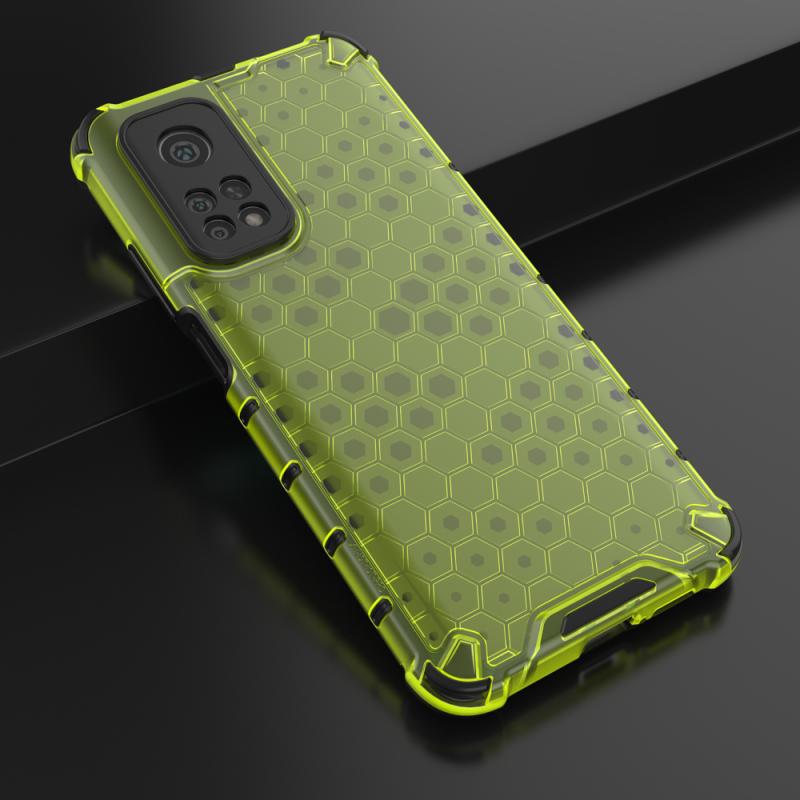 Honeycomb kryt na Xiaomi Mi 10T Pro/ Mi 10T Zelený