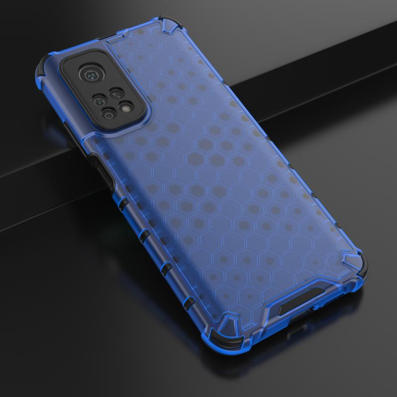 Honeycomb kryt na Xiaomi Mi 10T Pro/ Mi 10T Modrý