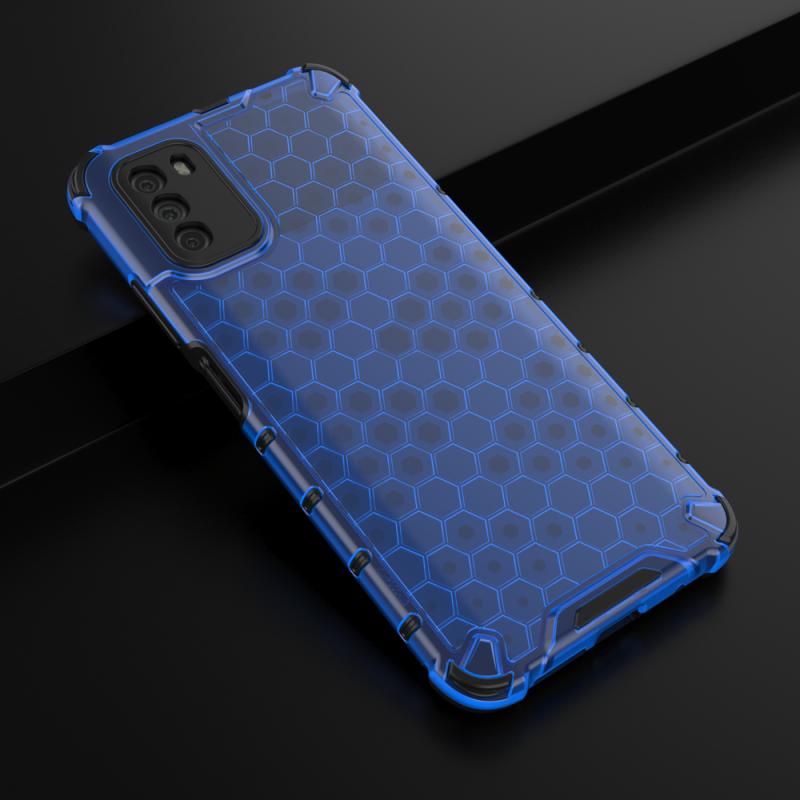Honeycomb kryt na Xiaomi Poco M3/ Redmi 9T Blue