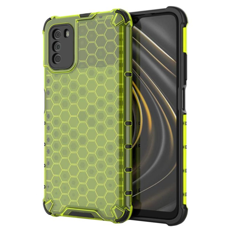 Honeycomb kryt na Xiaomi Poco M3/ Redmi 9T Green