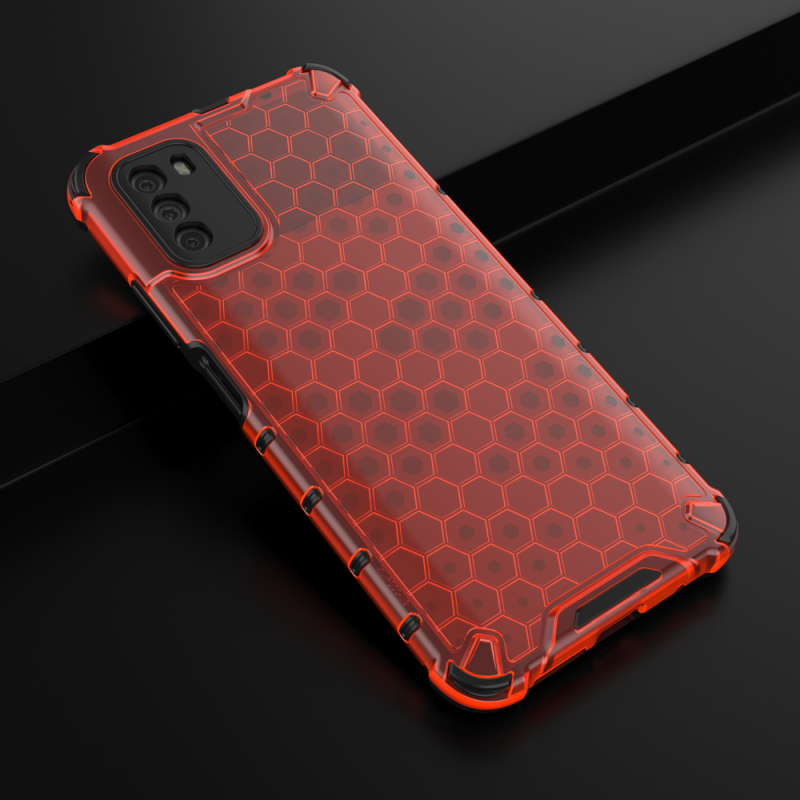 Honeycomb kryt na Xiaomi Poco M3/ Redmi 9T Red