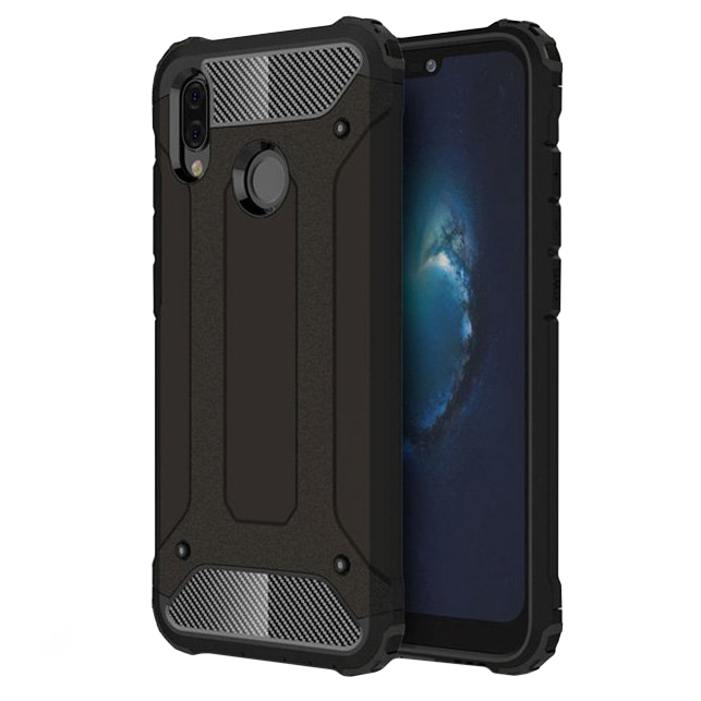 Hybrid Armor kryt na Huawei P20 Lite Black