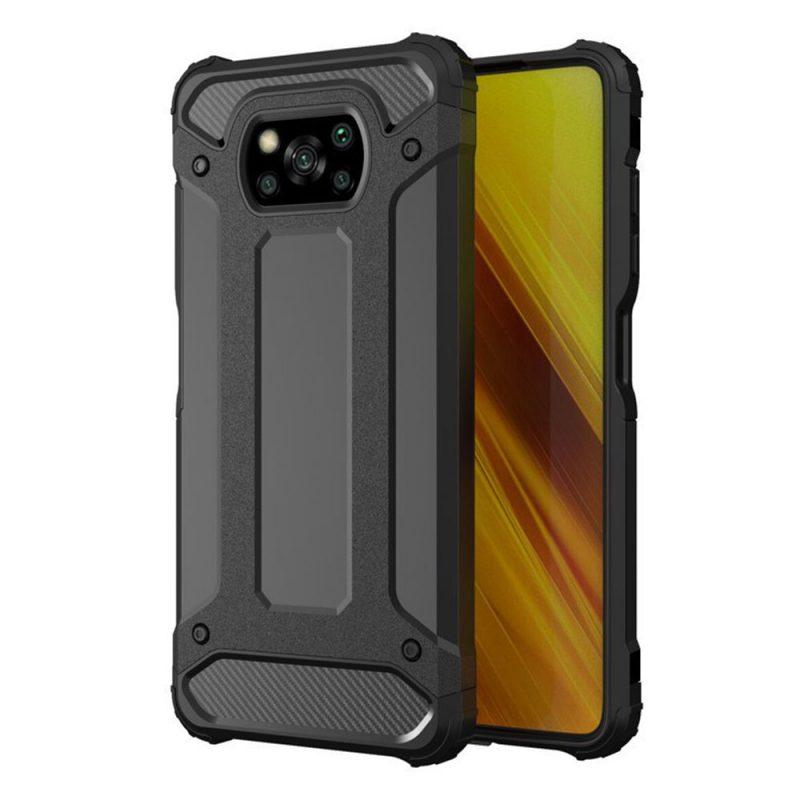 Hybrid Armor kryt na Xiaomi Poco X3 Pro/ Poco X3 NFC Black