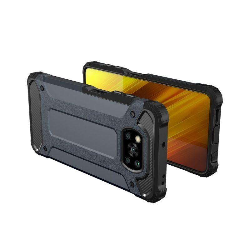 Hybrid Armor kryt na Xiaomi Poco X3 Pro/ Poco X3 NFC Blue