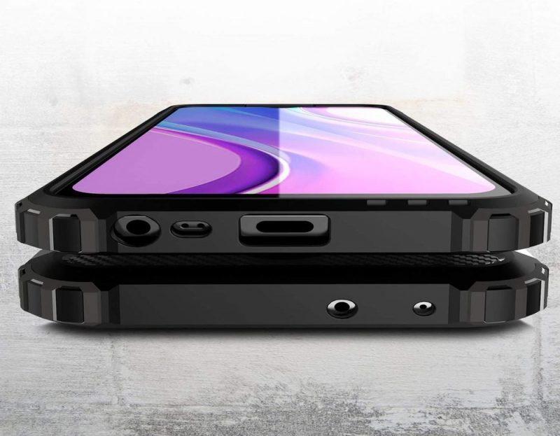 Hybrid Armor kryt na Xiaomi Redmi 9 Black