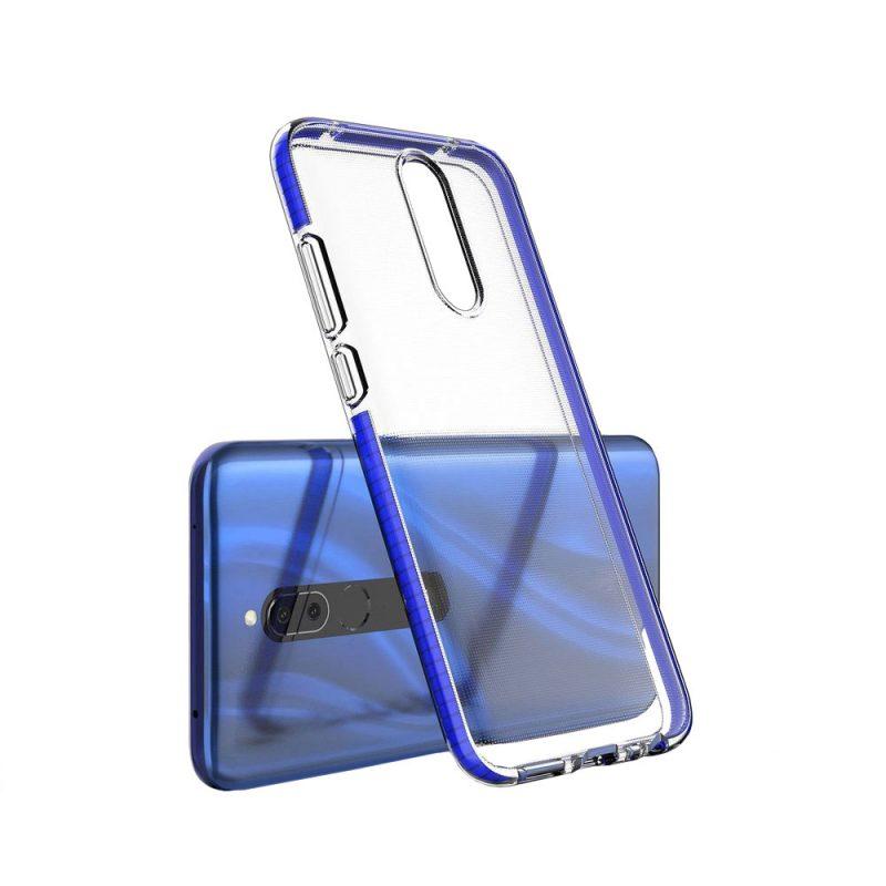 Kryt na Huawei Mate 20 Lite s Modrým Rámom