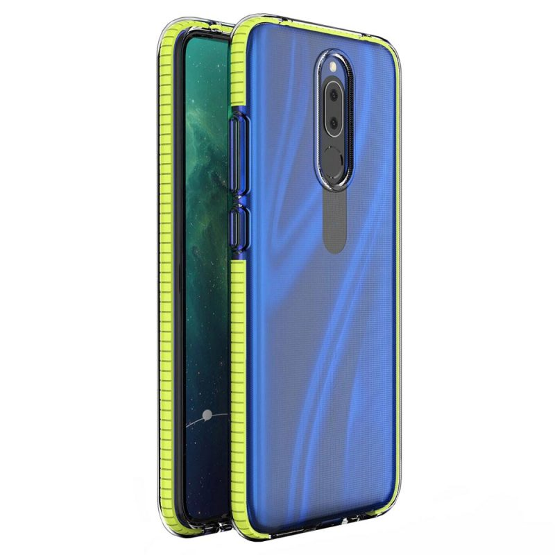 Kryt na Huawei Mate 20 Lite so Žltým Rámom