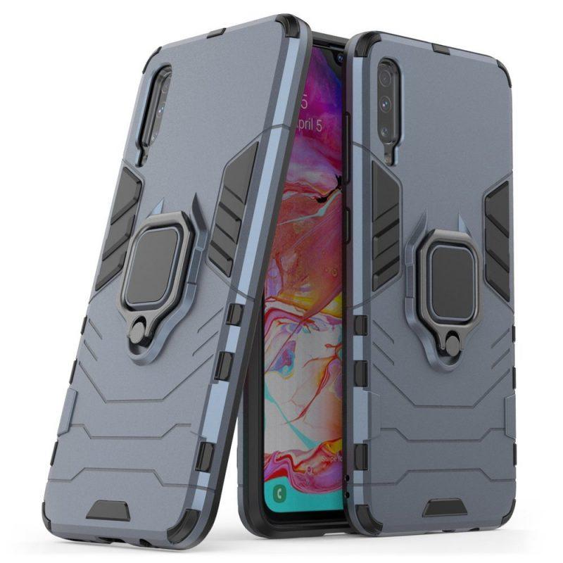 Ring Armor kryt na Xiaomi Mi A3 Modrý