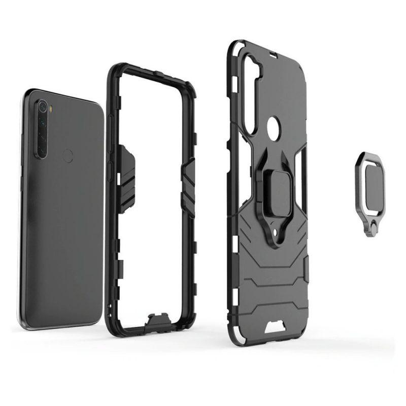 Ring Armor kryt na Xiaomi Redmi Note 8T Black