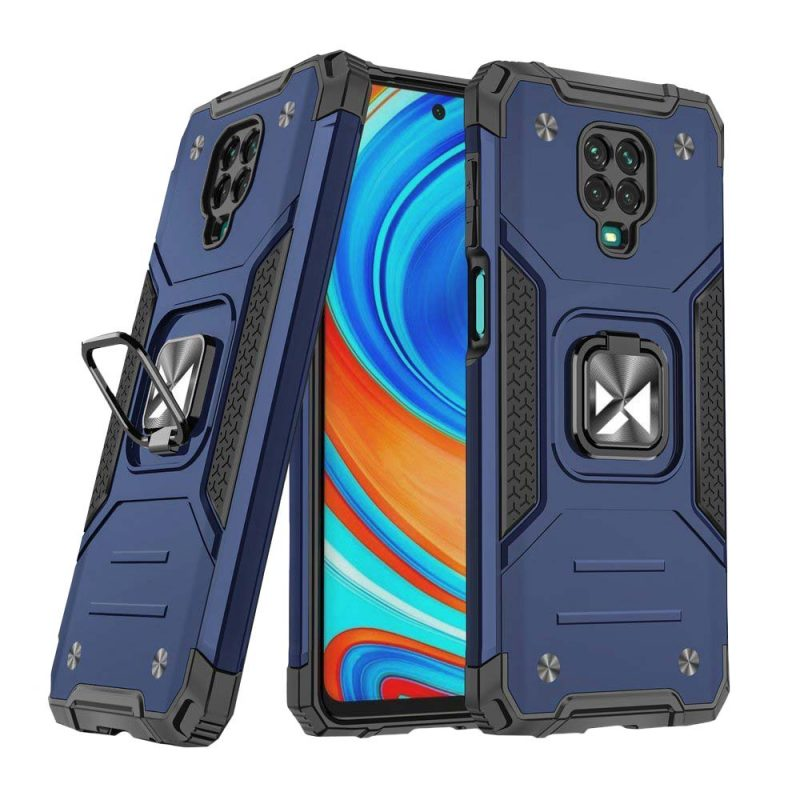 Ring Armor kryt na Xiaomi Redmi Note 9 Pro/ Redmi Note 9s Blue