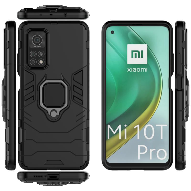 Ring Armor kryt na Xiaomi Mi 10T Pro/ Mi 10T Black