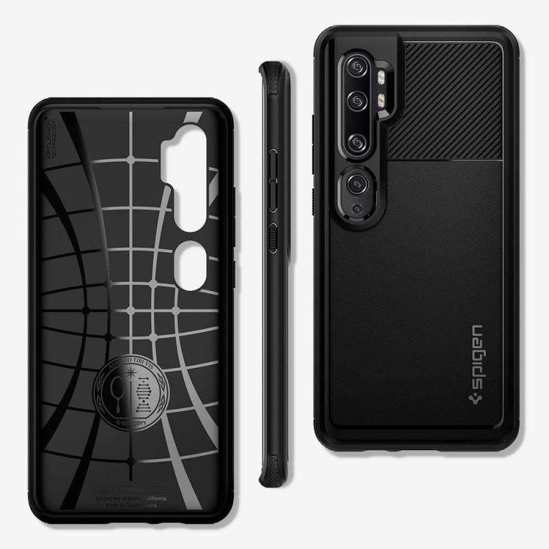 Rugged Armor kryt na Xiaomi Mi Note 10 / Mi Note 10 Pro Black