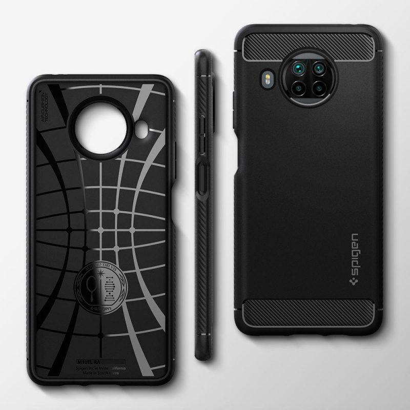 Rugged Armor kryt na Xiaomi Mi 10T Lite Black