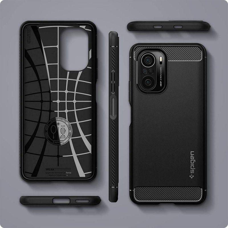 Rugged Armor kryt na Xiaomi Poco F3 Black