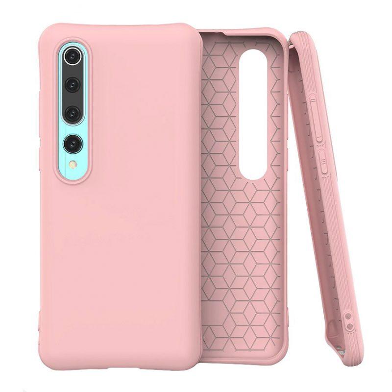 Silikónový kryt na Xiaomi Mi 10 Pro/ Mi 10 Ružový