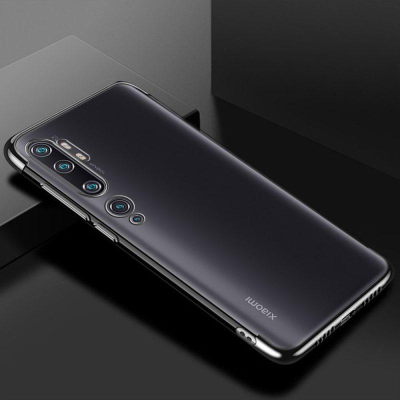 Silikónový kryt na Xiaomi Mi Note 10 / Mi Note 10 Pro Čierny