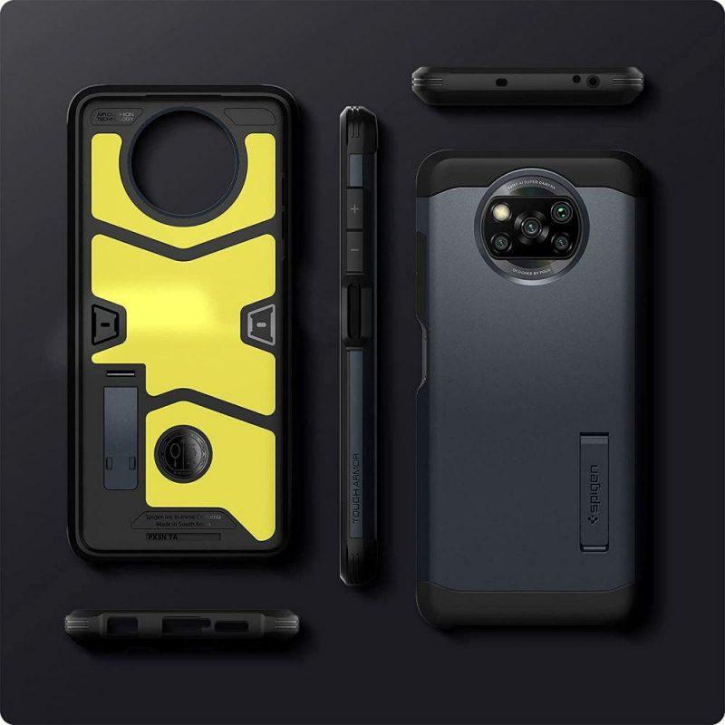 Tough Armor kryt na Xiaomi Poco X3 Pro/ Poco X3 NFC Black